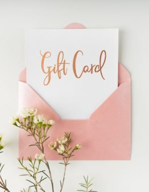 florist gift cards